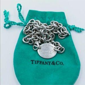 💕Tiffany Please Return To Tiffany Silver Necklace